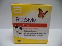 Free-Style Lite 100ct Test Strips