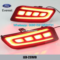 Auto Car LED Rear Bumper Brake Turn Signal Lights for Ford Everest