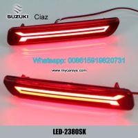 Car LED running Bumper Brake Lights Reflector for Suzuki Ciaz