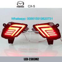 Car LED running Brake Bumper Lights Turn Signal lamps for Mazda CX-5
