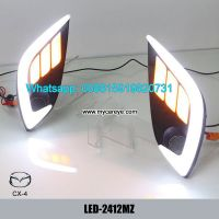Car DRL LED Daytime Running Lights autobody parts for Mazda CX-4