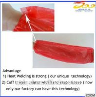 Disposable waterproof oversleeves food industry sleeve cover