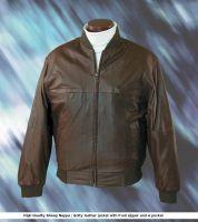 leather garment