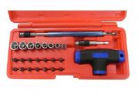 2 IN 1 T-Handle Set/ Han Tool by Chain Bin