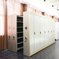 Anti-dumping Intelligent Library Shelving Cabinet with No Track