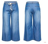 Womens Casual Mid Blue Jeans
