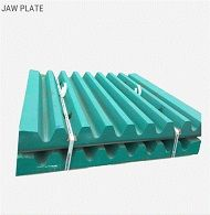 JAW PLATEFOR JAW CRUSHER