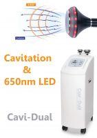 "Powerful Cavitation Body slimming ""Cavi-Dual"" (Cavitation+LED)"