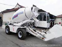 Self propelled concrete mixers