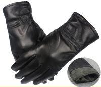 Sheepskin leather gloves
