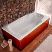 Venzi by Atlantis Whirlpool Aesis 32 x 60 Rectangular Soaking Bathtub w/ Reversible Drain