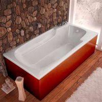 Venzi by Atlantis Whirlpool Aesis 32 x 60 Rectangular Soaking Bathtub w/ Reversible Drain