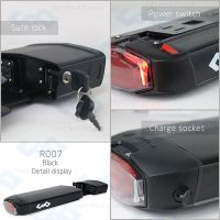 Factory Price Wholesale Lipo Battery 36V 9Ah Electric Bike Battery with Charger BMS Brand Cell USB Port Tail Light