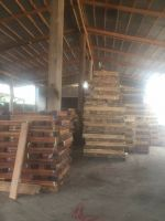 Supplying products from natural wood
