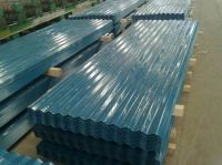 Pre-painted color corrugated steel sheet
