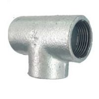 Fig No.1130 Two Times Baked Galv. Malleable Iron Pipe Fittings with BS threads, Plain