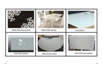 sell the SGCC CSI CE certification of printed toughened glass table top
