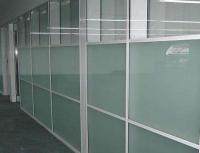 SGCC, CE, CSI certification of acid etched glass for partition, railing