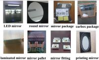 the CE TUV certification of sliver mirror for bathroom,mirror wall