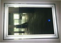 the CE TUV certification of LED mirror for bathroom, mirror wall