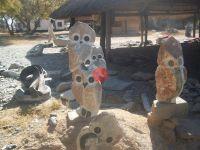 Leopard Rock Sculptures