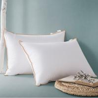 China Supplier White Home Bedding Pillows and pillow cases 100% cotton bulk