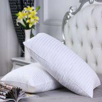 zhejiang pillow Comfortable polyester white plain pillow/ throw pillows