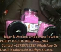 Hager & Werken Embalming Powder  Available For Sell All World +27730727287
