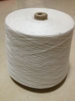 silk cotton blended heather hand knitting wool yarn from China