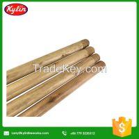 Wooden handle for broom dustpan mop