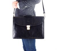 Calf Leather Briefcase / Portfolio