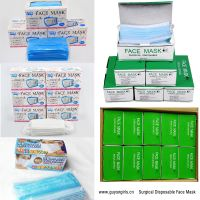 Surgical Disposable Face Masks ( large quantities to supply)