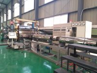 Automatic geocell production line