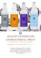 ONACIS Nano Silver Home Environment Disinfectant