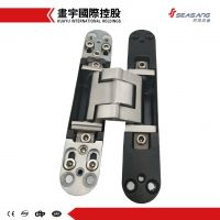 German type zinc alloy body&stainless steel core 3d adjustable concealed hinge for wood, steel, aluminum frames