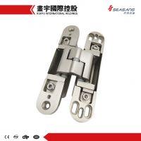 Hot sale zinc alloy 3-way adjustable tectus door hinges invisible&hidden hinge for wood, swing, aluminum doors