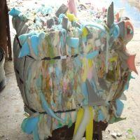 Hot product waste recycling compressed scrap PU sponge foam scrap