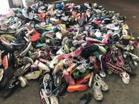 UNSORTED ALL GRADES A, B AND CREDENTIAL, MIXED ETHLETIC PARED SHOES, MISED PAIRED SHOES, SINGLE SHOES