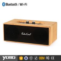 2.0-ch computer speakers wooden Bluetooth speaker 2.0 speaker