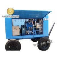 trunk-mounted portable type air compressor