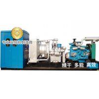 skid-mounted diesel compressor