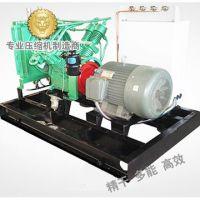 Screw piston-type compound compressor