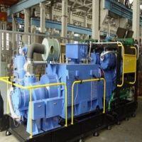 Screw-piston type air compressor