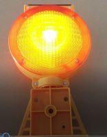 solar barricade light / solar warning light
