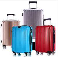 colorful hardshell trolley luggge from china