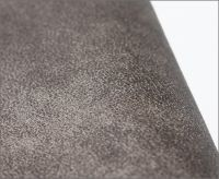 Stock bronzed suede fabric for sofa and car seat