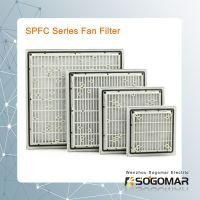ventilation plastic fan filter and metal finger guard