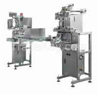 Cup/Bowl Noodle Pouch Dispenser, Dispensing Sachet for Sealing Machine