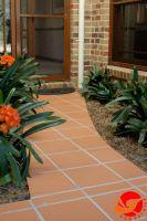 High Quality Red Floor Tile Unglazed Clay Tiles Vietnam Terracotta Tile 300x300mm