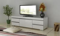glossy tv stand